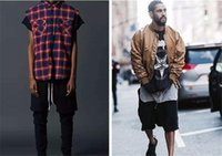 Wholesale Khaki Shorts For Black Men - Hot sale streetwear hip hop dance clothes stage for men black grey khaki short mens stretch cotton sweat jogger shorts free shipping