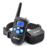 Wholesale Shock Collar Bark Training - Rechargeable and Rainproof 330yd Remote Dog Shock Collar with with 0-100 Levels of customization for Static Stimulation & Vibration,Beep