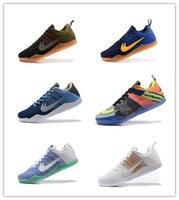 Wholesale Style Elite - Free shipping 2017 cheap New Zoom Kobe XI Elite Mens High Quality Basketball Shoes KB Sneakers Cheap Low style shoes online