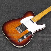 Wholesale Chinese Musical Instrument Shop - Brand New Standard TL Electric Guitar Maple Fretboard Chinese Custom Shop Sunburst musical instruments guitarra in stock