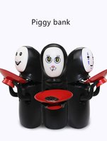 Wholesale Money Eating Piggy Bank - Creative toys Miyazaki Hayao thousands and thousands of money to find money cans toys can be uttered to eat coins piggy bank 80*210*160 mm