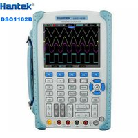 "Wholesale Probe Mhz - Portable Hantek DSO1102B Digital Oscilloscope USB Host Probe 5.6"" TFT Color LCD Multimeter 100 MHz 1Gsa S Handheld Automotive"