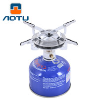 Wholesale AOTU Hiking Camping Sport Grill Head Portable Stove Head Disc Gas Stove Gas Stove Outdoor Flat