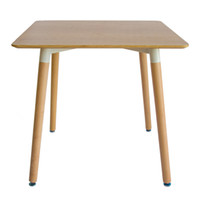 Wholesale Furniture Dining Rooms - Modern Simple Solid Wood Dining Table and Chair Combination Small Household Nordic Style Tables Hotel Dining Furniture 80X80CM F03W5