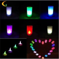 Wholesale Electronic Candle Light Sensor - Wholesale- Electronic Color Change LED Candle night light with motion sensor baby room novelty led energy saving lamp kids light