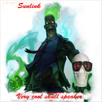 Wholesale Cool Bluetooth Speakers - 2017 the coolest skull mini speaker to be different from all other bluetooth mini speaker with retail box