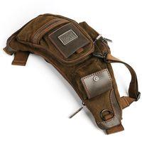 Wholesale Duffel Bags For Men - Hot Sale! 2017 canvas versatile casual shoulder messenger bags for men retro travel bag free shipping