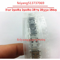 Wholesale Galaxy Grand I879 - 10pcs Original NEW micro usb jack plug Dock Connector Charging Port for Samsung Galaxy Grand i9082 i9080 i879 i8552 i869