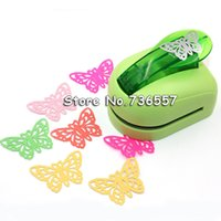 Wholesale Shaper Puncher - Wholesale- Free shipping Jef Large Size Shaper Punch Craft Scrapbooking butterfly Paper Puncher DIY tools 1pc