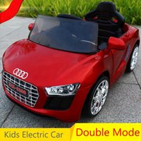 Wholesale Riding Cars Kids - Kids Electric Car Ride On Car With Remote Controller Child Electric Car for kids Free Shipping