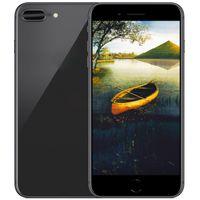 Wholesale Mtk6575 Tv - Goophone i8 plus 5.5inch MTK6575 Real Octa Core 1G RAM 16G ROM 8.0MP Camera 4G LTE Show 256GB unlocked phones