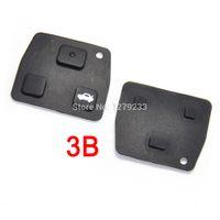 Wholesale Car Key Fob Lexus - 2 3 Button Car Remote Key Fob Rubber Pad For Toyota  Avensis  Corolla  Lexus  Rav4+Free Shipping