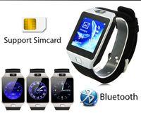 Wholesale Tf Card Max 32gb - NEW Bluetooth Smart Watch DZ09 Whatsapp Support SIM Card Sport Smart Wristwatch Max 32GB TF Card Bluetooth DZ09 SmartWatch