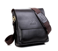 Wholesale Notebook Messenger Bag Laptop - High quality china polo fashion designer laptop bag cross body shoulder notebook business briefcase computer bag Shoulder Messenger Bag