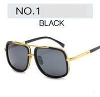 Wholesale Male Fashion Sunglasses - Wholesale fashion sunglasses 6663 male ladies retro sunglasses Flat light