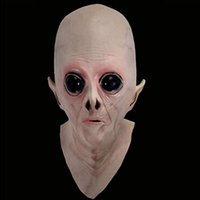 Maskenstile Mode Kaufen -Ufo Kopf Alien Halloween Masken Party Maske Science Fiction Halloween / Weihnachten / Party Maskerade Maske Für Geschenk Neuheit Mode Stil