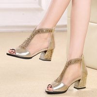 2017 femmes sexy sandales strappy talons chaussures chaussures chaussures femme sandales gladiateur d'été marque femme chaussures chaussure femme B7060401
