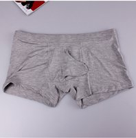Wholesale Sexy Underwear For Men Boxers - mens underwear pouch boxer modal homme sexy panties exotic male underwear penis sheath funny boxer shorts for men boxer homme