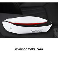 Wholesale Solar Purifier - Wholesale- Free shipping solar powered car use smart air purifier for car hepa