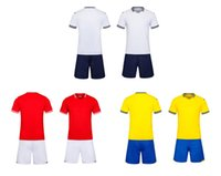 Wholesale Uniforms Dhl - 2017 New Arrival G6198 soccer traning set wholesale uniforms! soccer sets customized your team logos, soccer sets,free DHL shipping