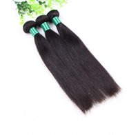 Wholesale 5a virgin hair pcs online - Grade A Top Quality Human Indian Hair Straight Double Weft g pc free DHL