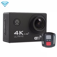 Wholesale House Wifi Camera - Wholesale- F60R 2.0 inch Screen 4K 170 Degrees Wide Angle WiFi Sport Action Camera Camcorder with Waterproof Housing Case Remote Controller