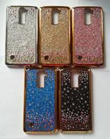 Wholesale Glitter Stylus - Defender Starry Glitter Rhinestone TPU Case for LG K20 Plus Zmax Pro Z981 Prestige 2 Samsung On5 J3 Prime J7 Sky Pro Perx S8 Stylus 3 Aristo