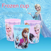 Wholesale Water Rinses - Wholesale- South Korea Imports Genuine Tableware Cartoon Children's Cup Baby Plastic Mug Brush Your Teeth Water Cups Rinse Cup