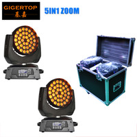 Wholesale China Roads - LED Moving Head 36X15W Beam+Wash+Zoom Moving Head Light RGBWA 5IN1 Pack + 2in1 Flight case Road case Rack case China flight case 2in1 Pack