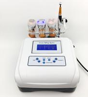 aparelho de elevação de cara mesoterapia venda por atacado-Sistema de levantamento de Derma com dispositivo livre de Lfiting da cara dos cuidados com a pele de Mesotherapy da agulha