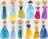 Wholesale Wholesale Western Shoes - Mixed Handmade Barbie Dress Fashion Mini Doll Dress Shoes for Barbie Dolls Party Slim Dress Clothing Accessories
