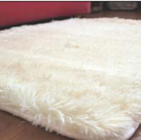 Wholesale Plush Room Carpet - 2017 Match All Room 5 Dimensions Long Plush Shaggy Soft Carpet Area Rug Slip Resistant Door Floor Mat For Bedroom Living Room