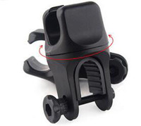 1 Pc / Lot U Style Rotation Swivel Bicycle Mount Bike LED Phare Lampe à lampe Support de lampe Bracket Clamp Clip Grip 360 Degree