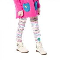 Wholesale Winter Print Fleece Leggings - Kidsalon Kids Winter Pants Girls Leggings Thick Fleece Children Trousers Baby Girls Pants 2017 Brand Printed Christmas Leggings Warm