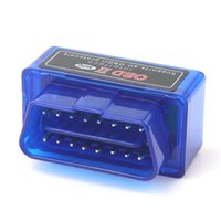10 pcs Mini Elm327 Bluetooth OBD2 / OBDII Scanner de interface de diagnóstico ELM 327 V 1.5 Leitor de código de carro para o adaptador Android Scanner CDT_000