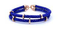 Wholesale Leather Fish Hook Bracelet - Beichong Luxury man jewelry bangle & Bracelet New Arrival stingray leather bracelet With Titanium Steel Circle Bangle