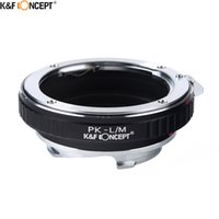 Wholesale Manual Focus Cameras - Wholesale- K&F CONCEPT For PK-L M Camera Lens Adapter Ring For Leica M Lens Fit On Pentax K mount Camera Body With Manual Mode Focus