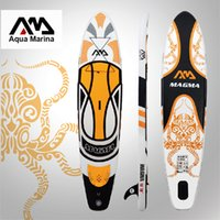 Wholesale 330 cm inflatable surfboard surf board stand up paddle board AQUA MARINA with pedal control sup board bag leash paddle