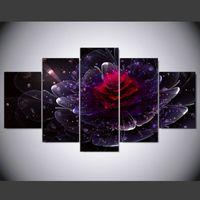 Vente en gros Nouvelle Peinture Murale De Fleurs 2019 en vrac à ...