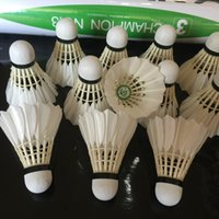 Wholesale Wholesalers Badminton Shuttlecocks - Hot Sale Victor CHAMPION NO.3 Badminton Shuttlecock Quality Guaranteed Shuttlecock High Quality Game Balls 12 Pieces 5 Dozens Free Shipping
