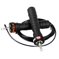 corda de salto de salto ajustável venda por atacado-3 M Corda de Salto Crossfit Cabo de Treinamento Profissional de Alta Velocidade de Velocidade de Pular corda Cordas de salto duplo crossfit equipamentos