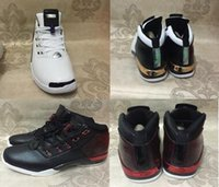 Wholesale Canvas Shoes Size 12 Women - Air Retro 17+ XVII Bulls Black Copper Gold Man Women Basketball Shoes AA High Quality Wholesale Size USA 5.5 12 Sneakers With Box