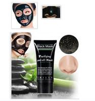 очищающие маски для лица оптовых-Черная Маска всасывания угрей удаления коллагена маска для лица 50 мл шелухи глубокое очищение очищающий шелушиться черная маска для лица пил маски