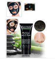 Wholesale Wholesale Facial Masks - Black mask Suction blackheads removers collagen facial mask 50ml SHILLS Deep Cleansing purifying peel off Black face mask Peel Masks