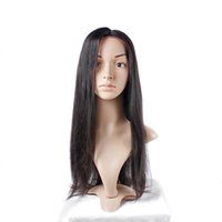 Wholesale Lace Wigs Virgin Straight - Full Lace Human Hair Wigs Uglam Brazilian Straight Wave Wig With Baby Hair Free Shipping Brazilian Virgin Hair Extension