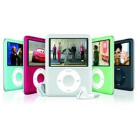 "Wholesale Video Media - Wholesale- Simplestone Slim MP3 8GB 1.8"" LCD Media Video Game Movie Radio FM 3th Generation Player 0117 drop shipping"