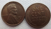 Wholesale Dance One - 1931S LINCOLN ONE CENTS COPY USA coins differ Crafts Free Shipping Promotion Cheap Factory Price nice home Accessories Coins