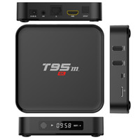 T95M S905X Android Ott TV Box 4K Smart Media Player Streaming 1GB RAM 8GB FLASH 2.4GHz WiFi Internet 4K HD TV Boxes