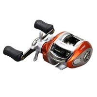 Wholesale red sheet metal - New left hand and right hand fishing wheels metal spinning fishing reel superior fishing 12+1BB stainless steel equipement out254