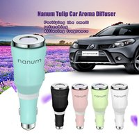 Wholesale Wholesale Used Car Batteries - Nanum Charger Aroma Essential USB Car Chagre Home Use Car Mist Phone Battery Charger for Samsung S8 12V Car Accessories